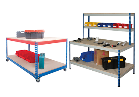 Racking accessories and workplace products