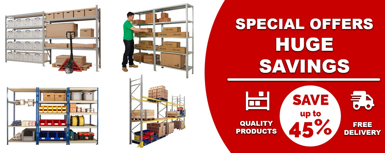 Clearance Racking Banner