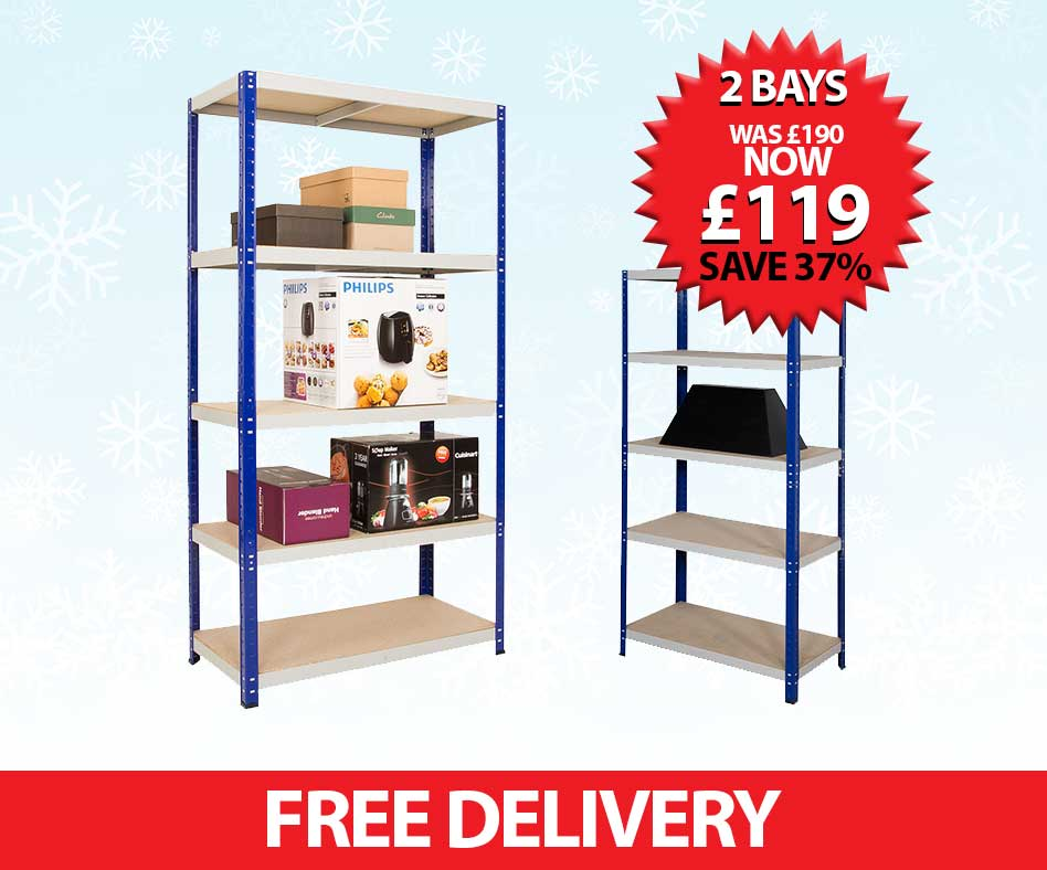 2 Bay Shelving Special details