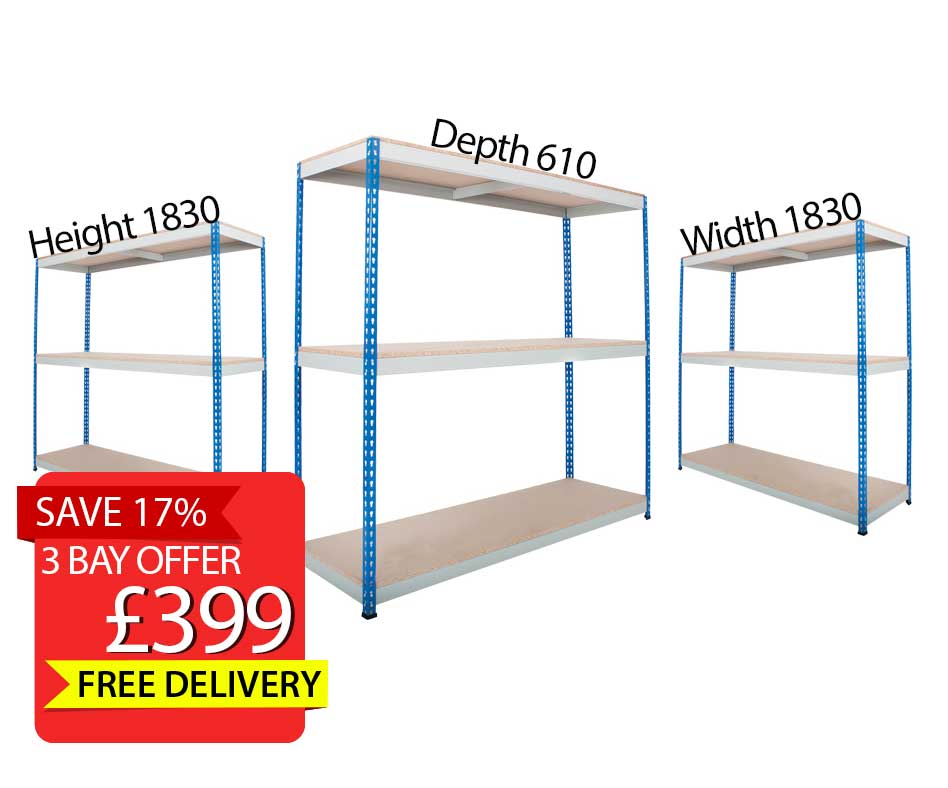 Deal of the Month: 3 Bay Racking